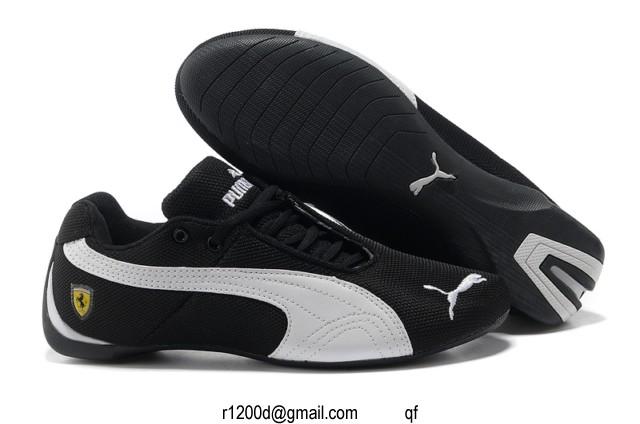Sport chaussure Chaussures Noir Homme Blanc Puma Cuir basket Et 15uKlFJcT3